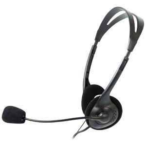 FONE COM MICROFONE VOICER LIGHT PRETO - C3T