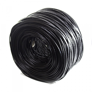 CABO PARA CFTV 4 X 24 AWG 0,51MM PRETO 305M MULTILASER