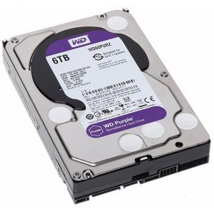 HDD DRIVE WD60PURZ 6TB SATA 3 5400RPM 64MB PURPLE