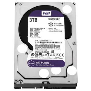 HDD DRIVE WD30PURZ 3TB SATA 3 5400RPM 64MB PURPLE