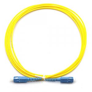 CORDÃO ÓPTICO SIMPLEX SC-UPC/SC-UPC 0,5 M SM MONOMODO