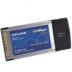 CARDBUS 108 MBPS PCMCIA TL WN610G TP-LINK
