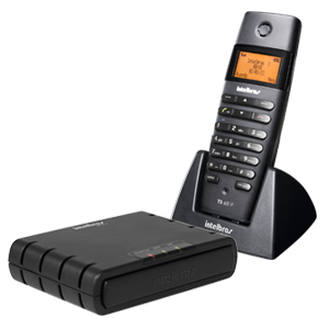 CENTRAL IP DECT COM 01 TELEFONE SEM FIO TS60 IP INTELBRAS