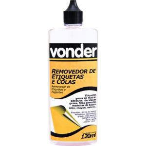 REMOVEDOR DE ETIQUETAS E COLAS 120ML VONDER