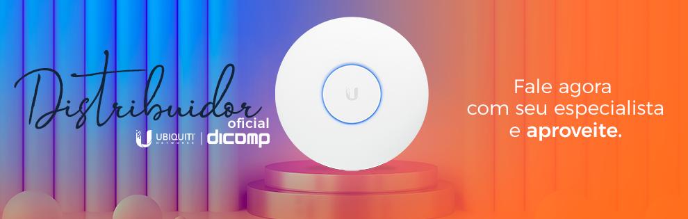 A Dicomp é distribuidora oficial Ubiquiti