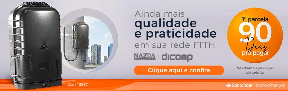 Conheça a CTO para poste Nazda