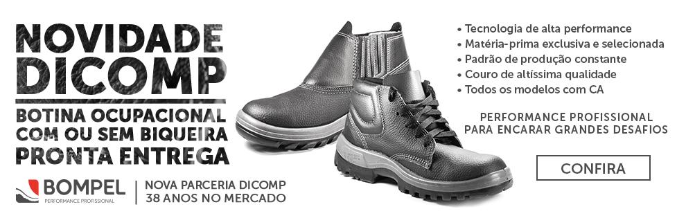 Lançamento Dicomp | Botinas Bompel