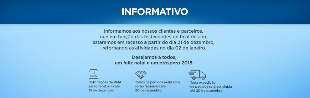 Informativo Dicomp | Recesso de final de ano