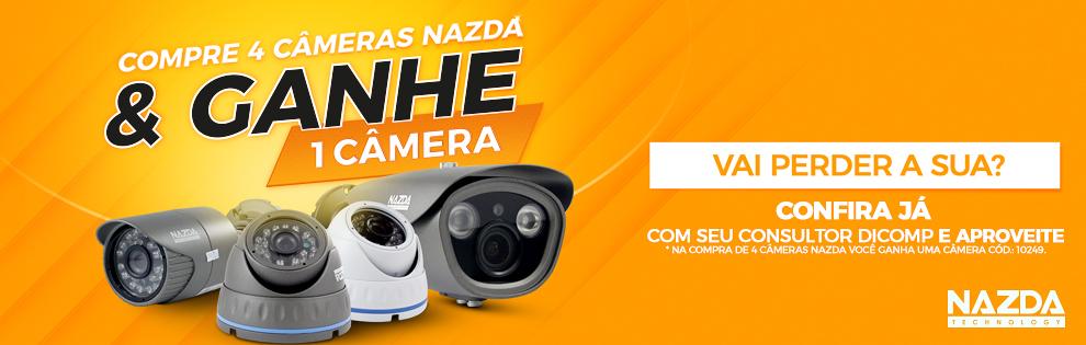 Aproveite e garanta a sua câmera Nazda