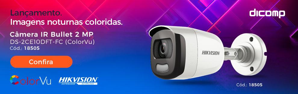 Clique aqui e conheça a tecnologia ColorVu | Hikvision