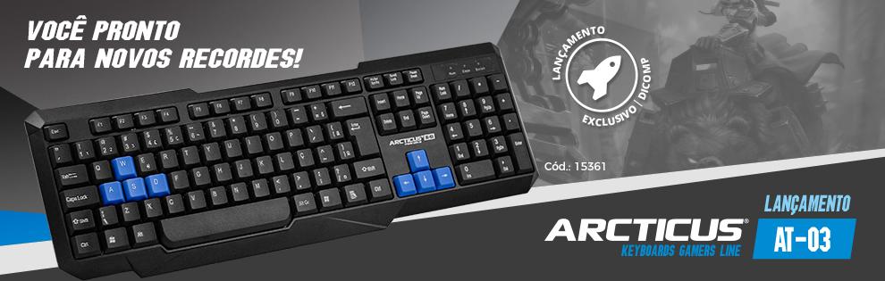 Lançamento | Novo teclado AT03 ARCTICUS