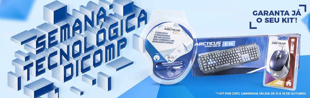 Aproveite a Semana Tecnológica Dicomp, garanta o seu kit.