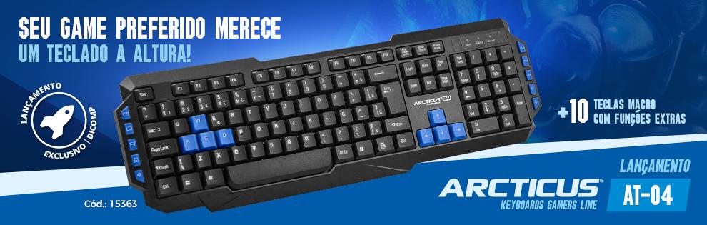 Lançamento | Novo teclado AT04 ARCTICUS