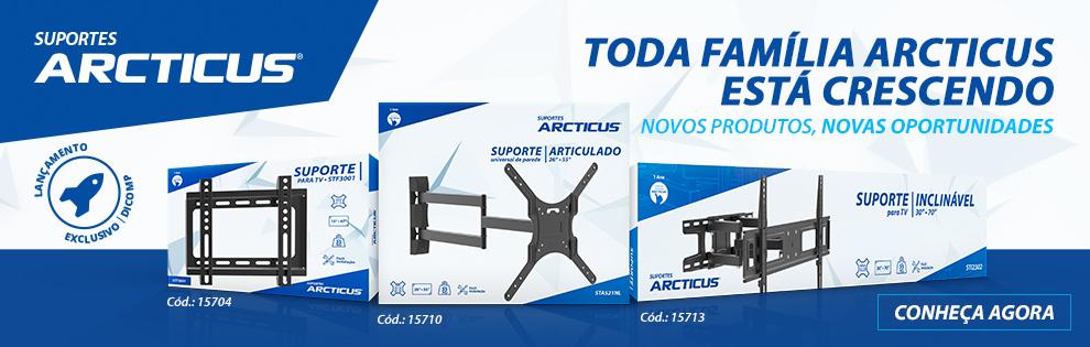 Lançamento | Suportes para TV Arcticus